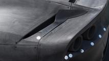 Ferrari 812 Superfast maqueta para el túnel de viento