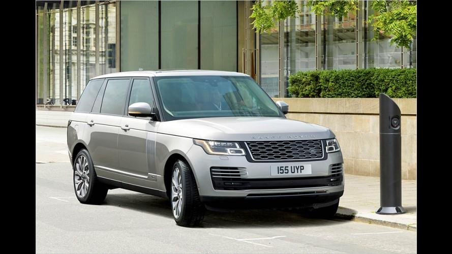 Range Rover (2018) kommt auch als Plug-in-Hybrid