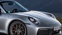 2020 Porsche 911 Convertible Fan Renders