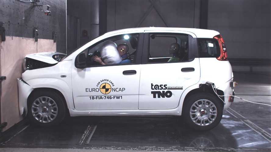 Fiat Panda, il crash test Euro NCAP