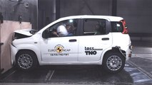 Fiat Panda Euro NCAP crash test