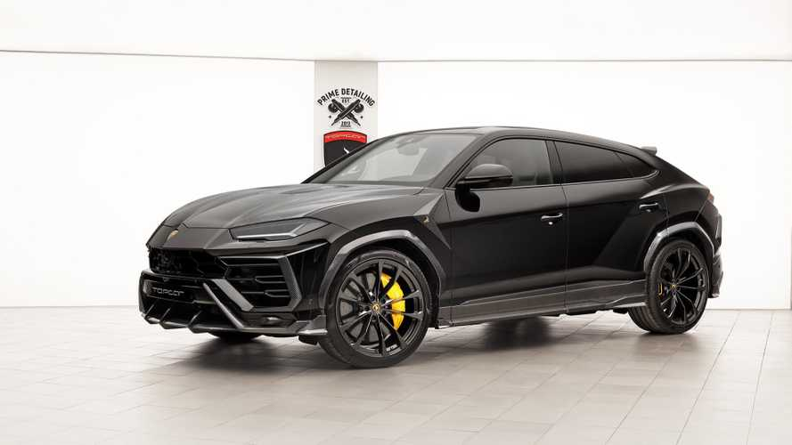 plus d 39 agressivit pour le lamborghini urus gr ce topcar. Black Bedroom Furniture Sets. Home Design Ideas