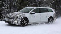 Makyajlı 2019 VW Passat Variant Casus Fotoğrafları