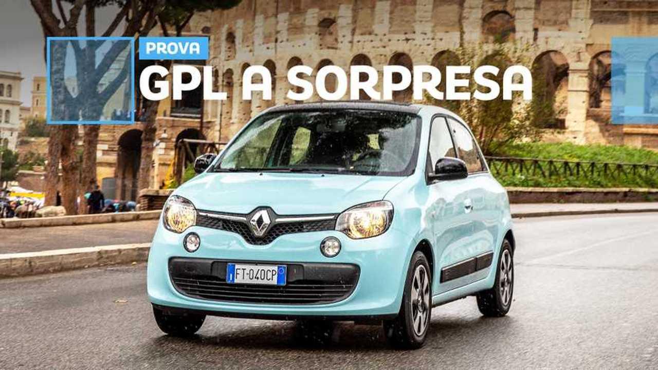 Renault Twingo GPL, i blocchi del traffico non la fermano
