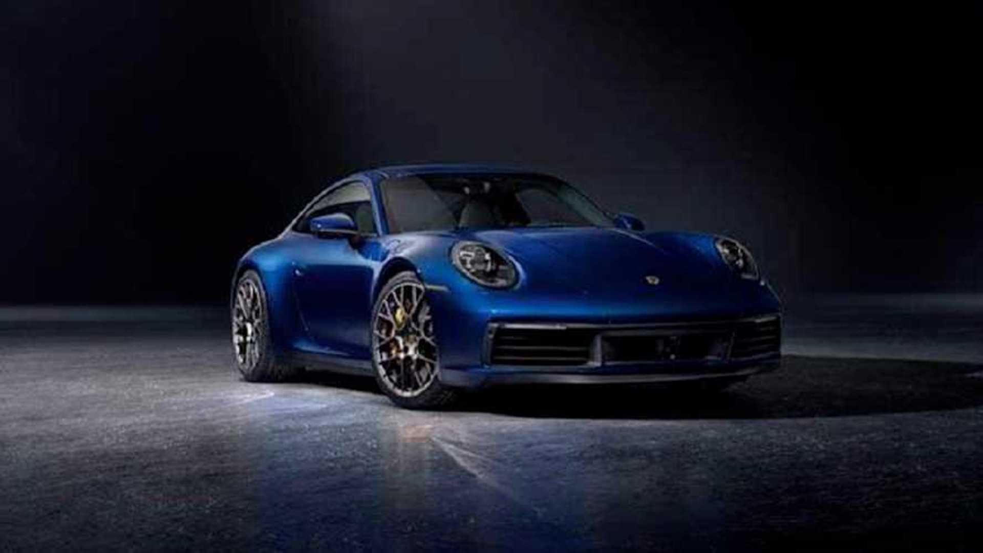 Vazou Novo Porsche 911 2020 Aparece Antes Do Lancamento Oficial
