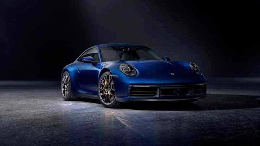 2020 Porsche 911 Images Leaked Ahead Official LA Debut