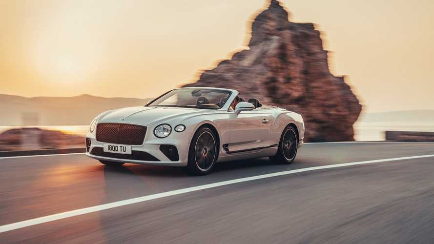 2019 için yenilenen Bentley Continental GT Convertible tanıtıldı