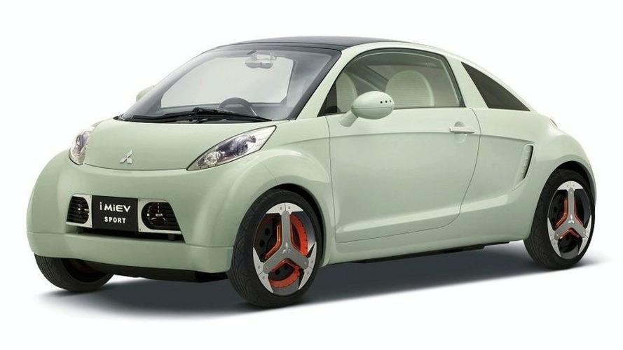 Mitsubishi i MiEV Sport Concept Debut at Tokyo