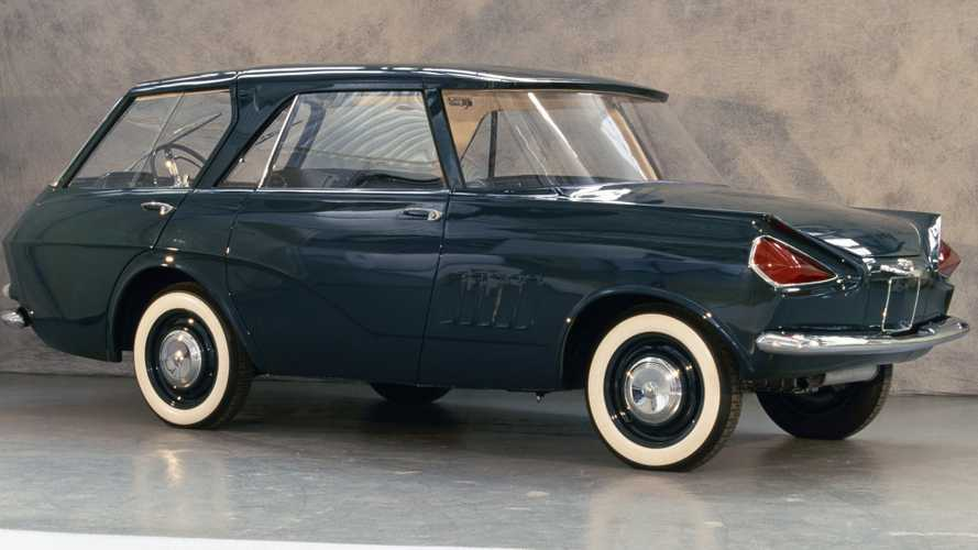 Renault Concept 900, l'auto a rovescio