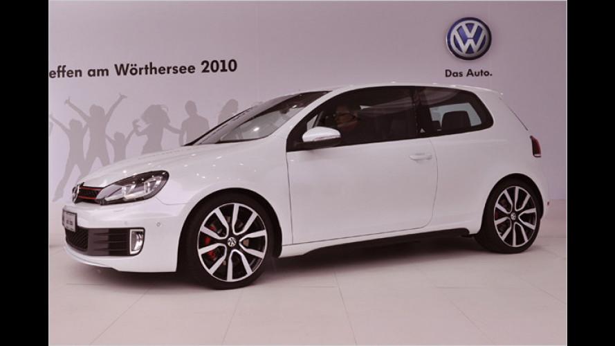 Fantreffen am Wörthersee: Premiere des Golf GTI adidas