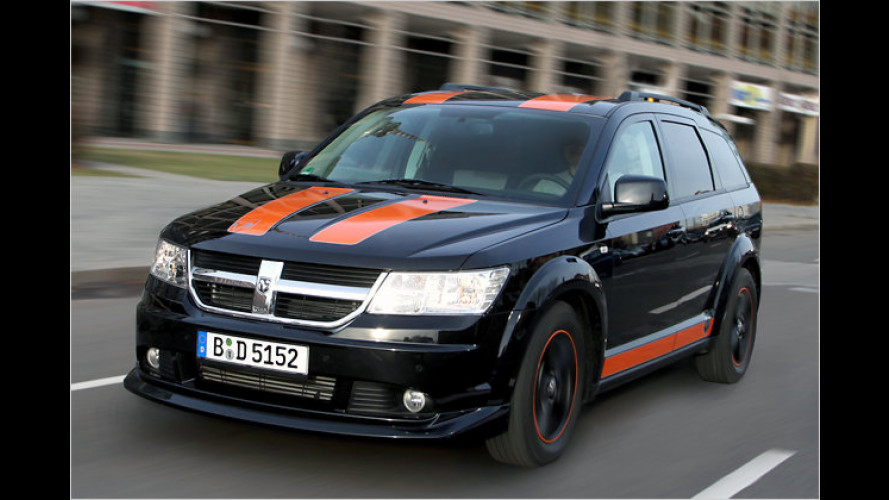 Dodge Journey SR: Rallye-Look von Irmscher