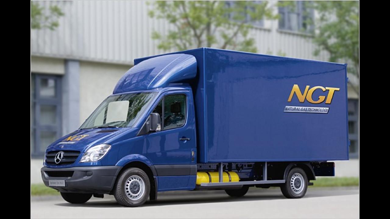 Mercedes Erdgas-Sprinter