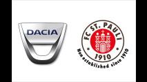 Dacia wird Fußballsponsor