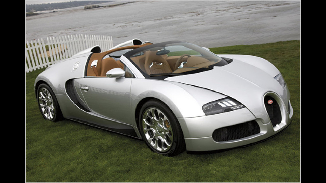 1. Platz: Bugatti Veyron 16.4 Grand Sport