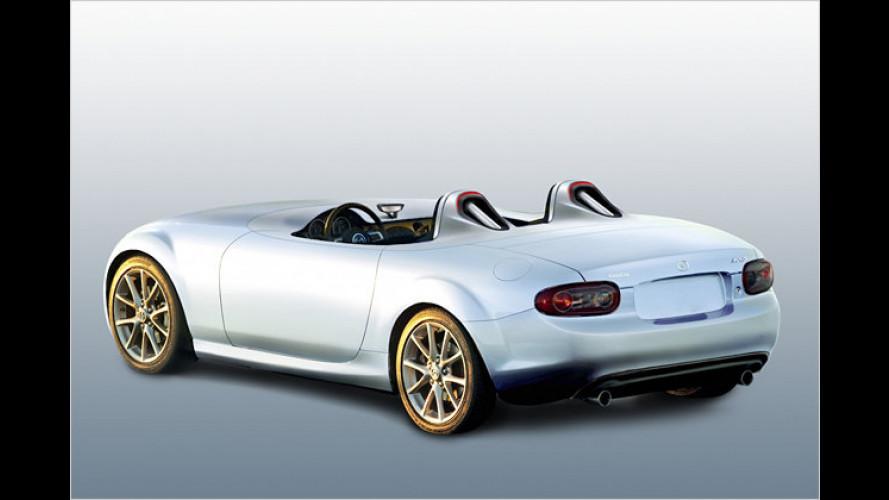 Leicht und puristisch: Mazda-Studie auf MX-5-Basis