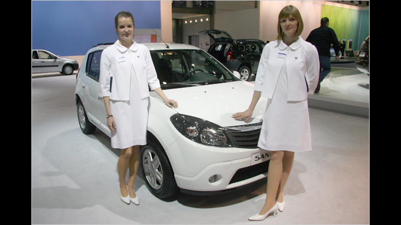 Dacia hat viele neue Freundinnen gefunden
