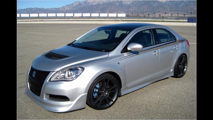 Suzuki auf der SEMA 2009: Drei Kizashi und ein Pick-up