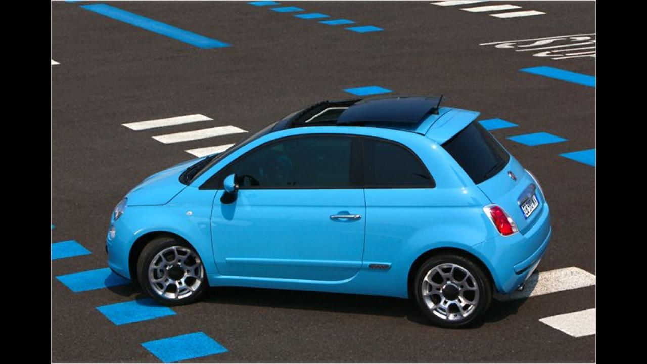 Fiat mit Premieren