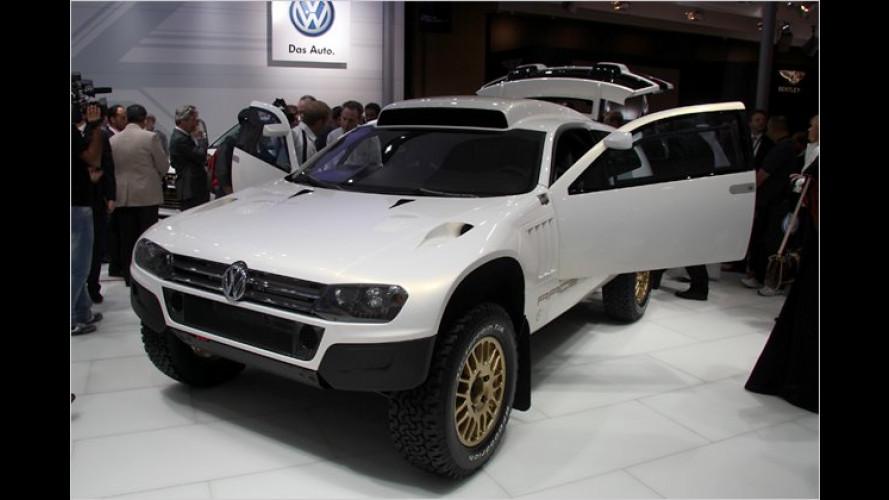 VW im Goldrausch: Zwei Touareg-Studien in Katar