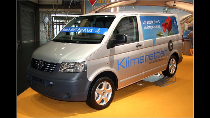 Volkswagen T5 mit umweltfreundlichem Erdgasantrieb