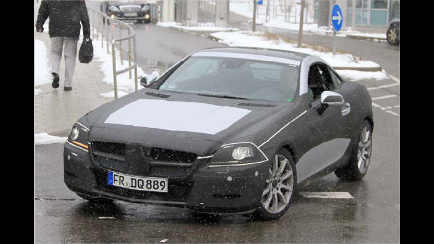 Erwischt: Der neue Mercedes SLK nimmt Formen an