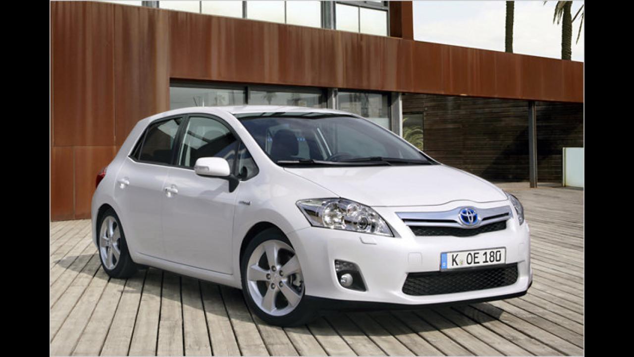 Toyota: Die häufigste Farbe ist Silber