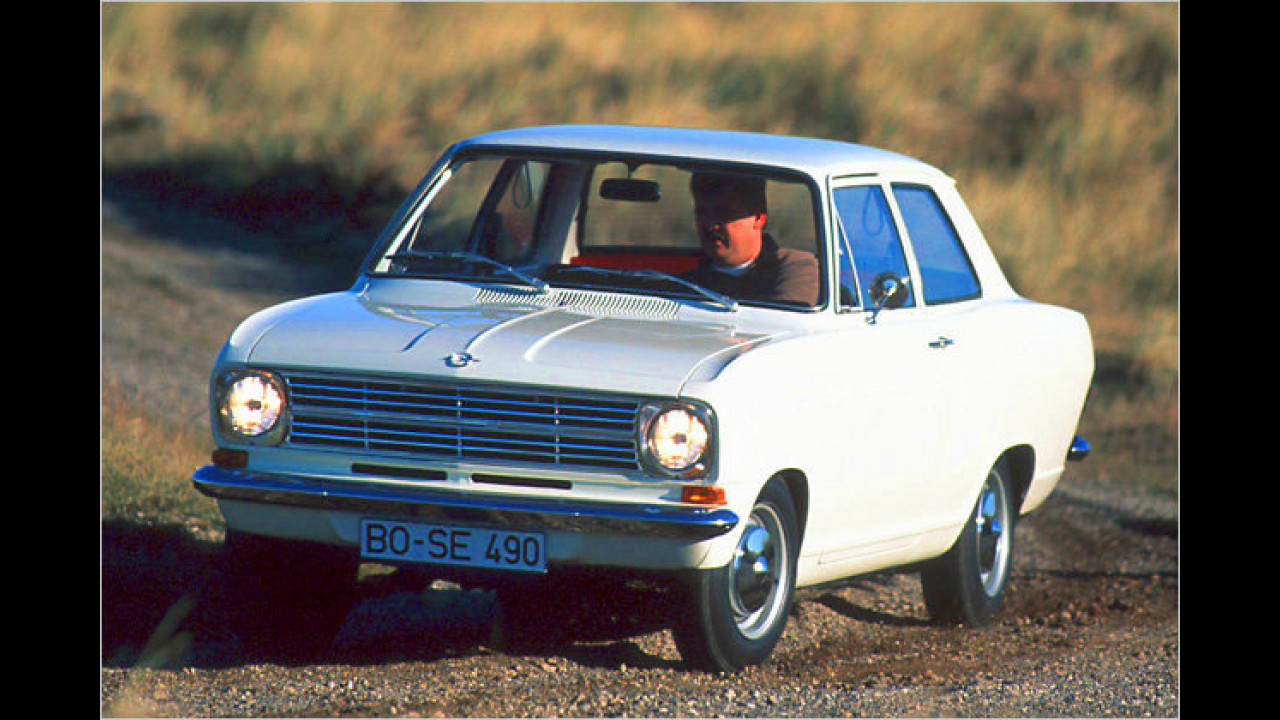 Platz 10: Opel Kadett