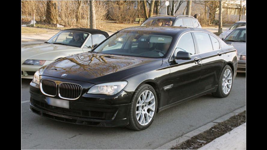 Stärkster Serien-7er als Erlkönig: BMW Alpina B7 (2009)