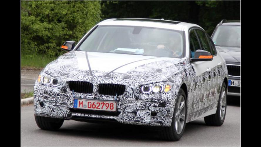 Erwischt: Neuer BMW 3er und gelifteter 7er