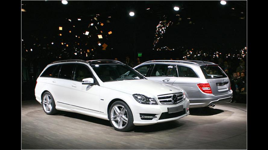 Mercedes stellt in Detroit das Facelift der C-Klasse vor