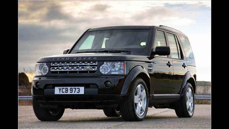 Überleben für Reiche: Gepanzerter Land Rover Discovery