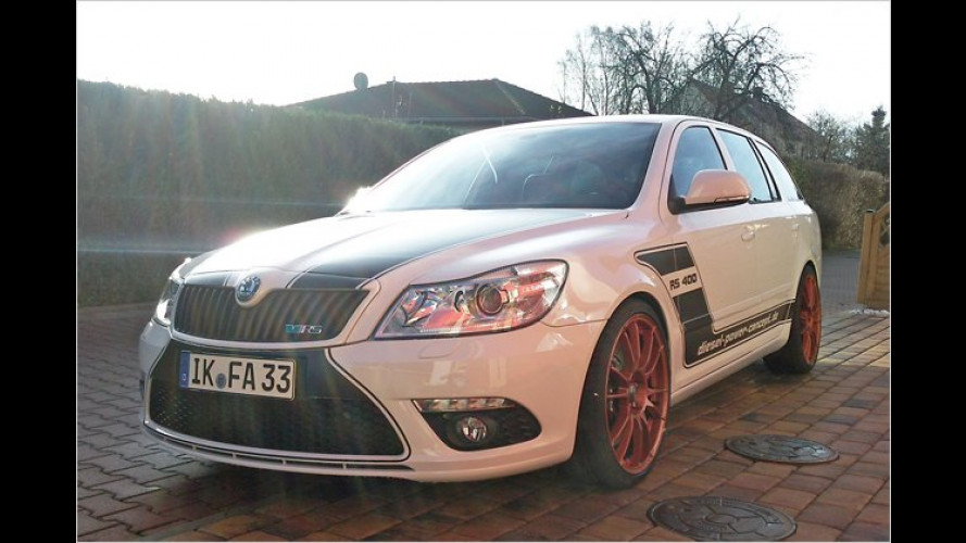Power-Play: Skoda Octavia RS400 von MTE