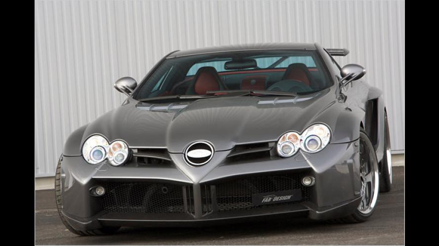 Mehr Power für den Über-Benz: FAB Design tunt den SLR