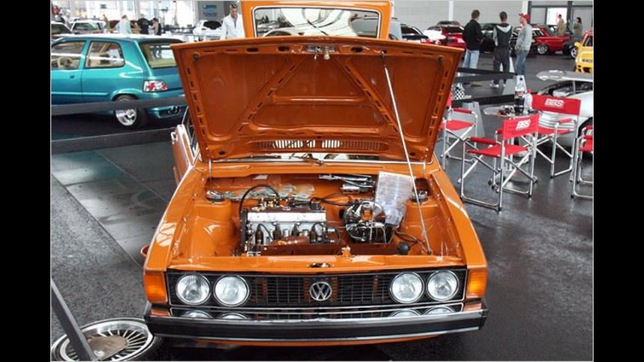 Der alte ist jetzt Kult: Ein VW Scirocco ...