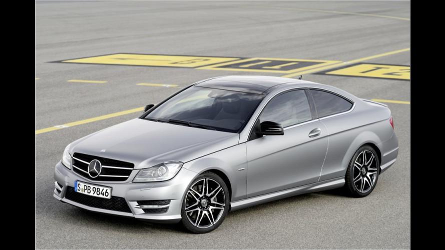 Kleine Aufwertungen bei Mercedes