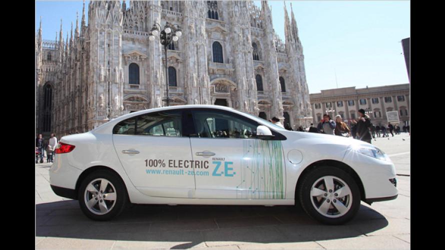 Renault-Nissan startet E-Auto-Erprobung in Italien