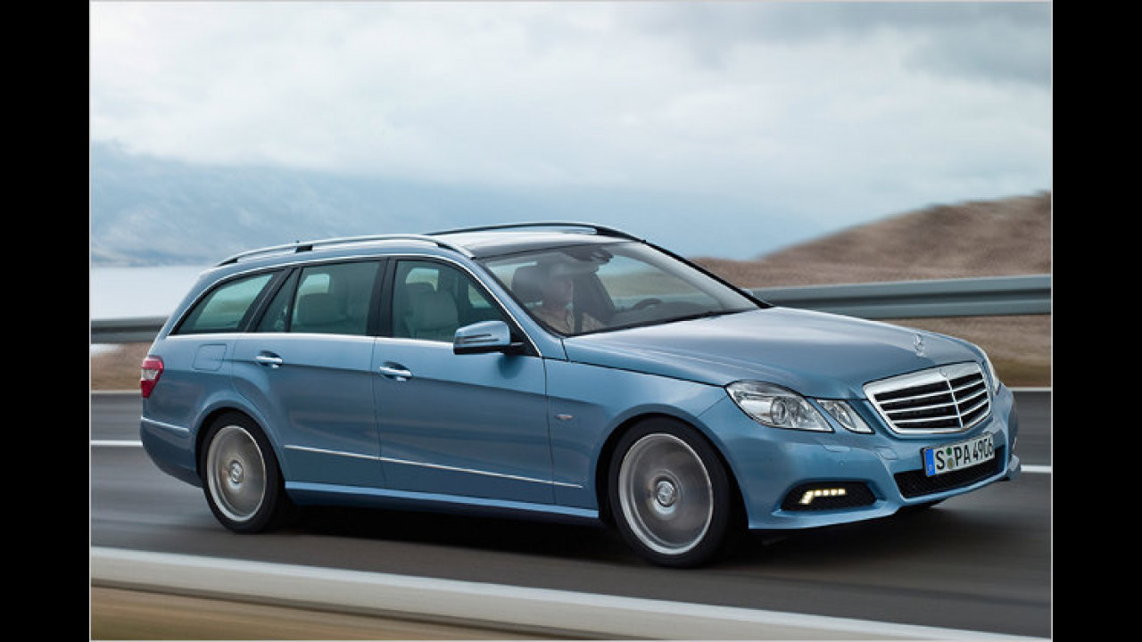 Mercedes E 350 CDI T 4Matic (ab 1.Quartal 2010)