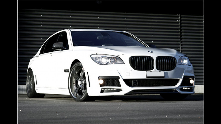 Verbreiterter BMW 760Li von Lumma und Shaston