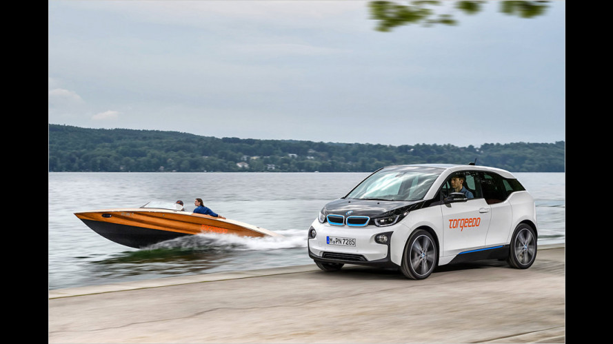 Torqeedo: BMW-i3-Technik im Boot