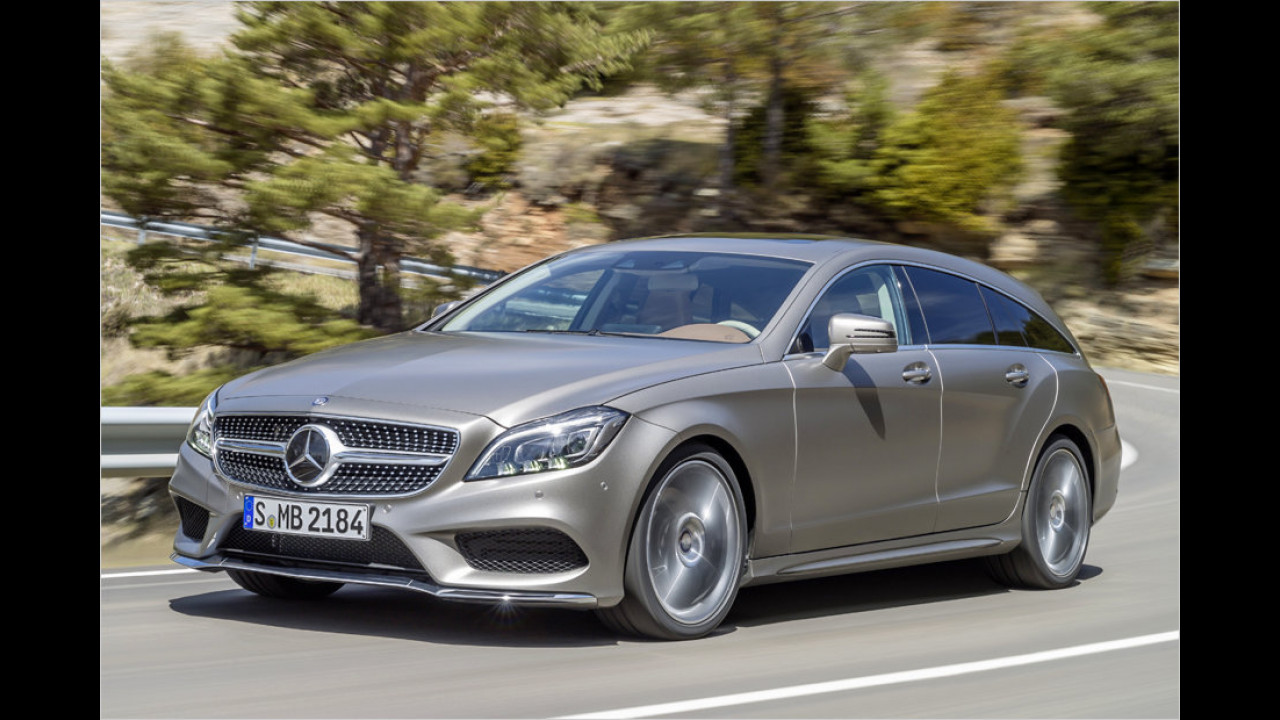 Mercedes CLS Shooting Brake: 4,95 Meter