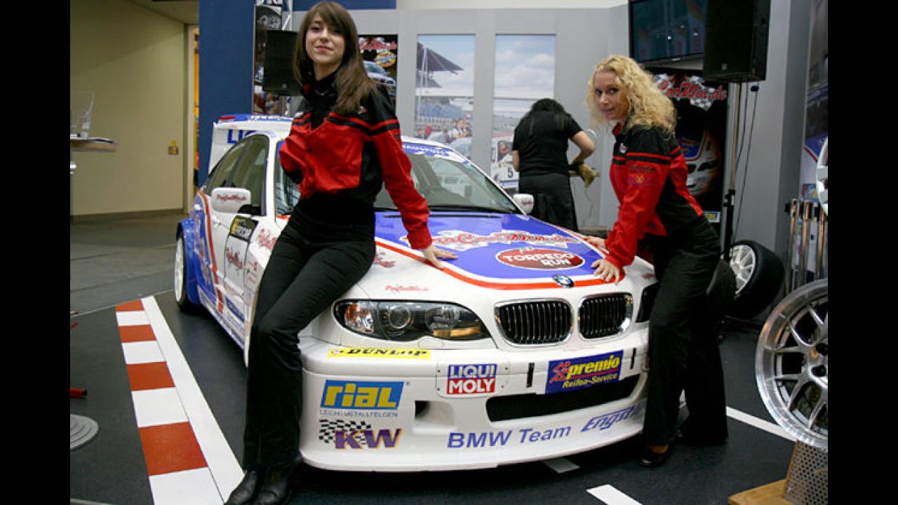 Das ist also das BMW Team: Da wollen wir mitmachen!