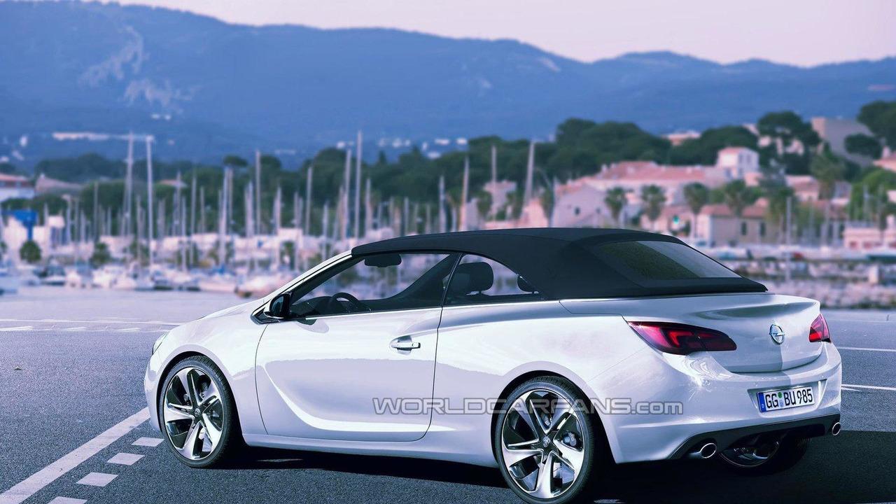 2013 Opel Astra convertible artist rendering 13.05.2011