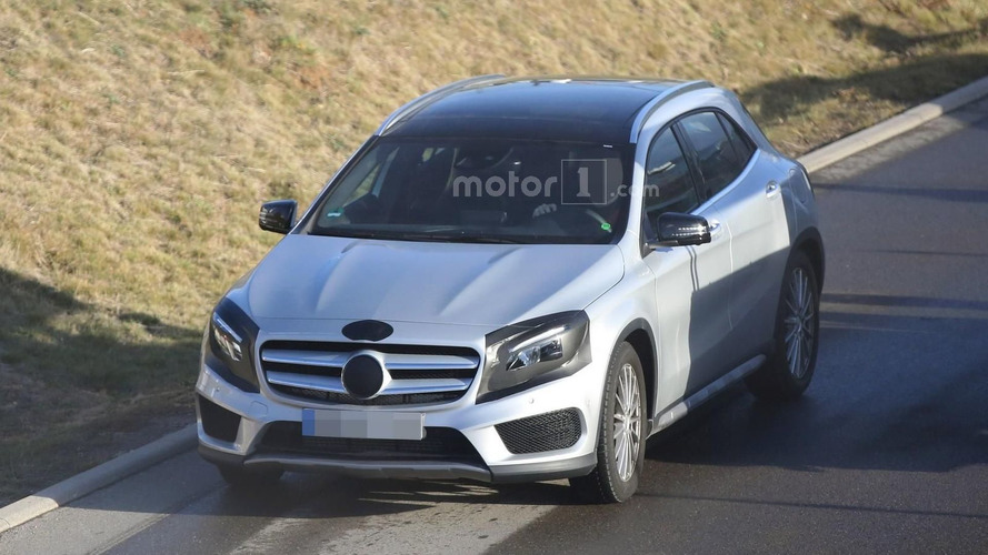 Updated Mercedes 2017 roadmap shows GLA facelift instead of GLA Coupe