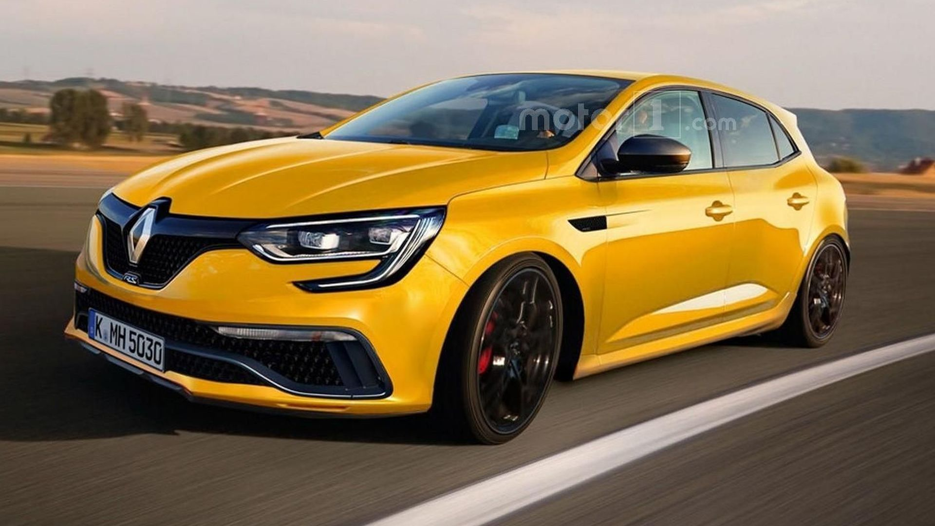 Megane Rs 2017 >> 2017 Renault Megane Rs Render Sees Into The Future