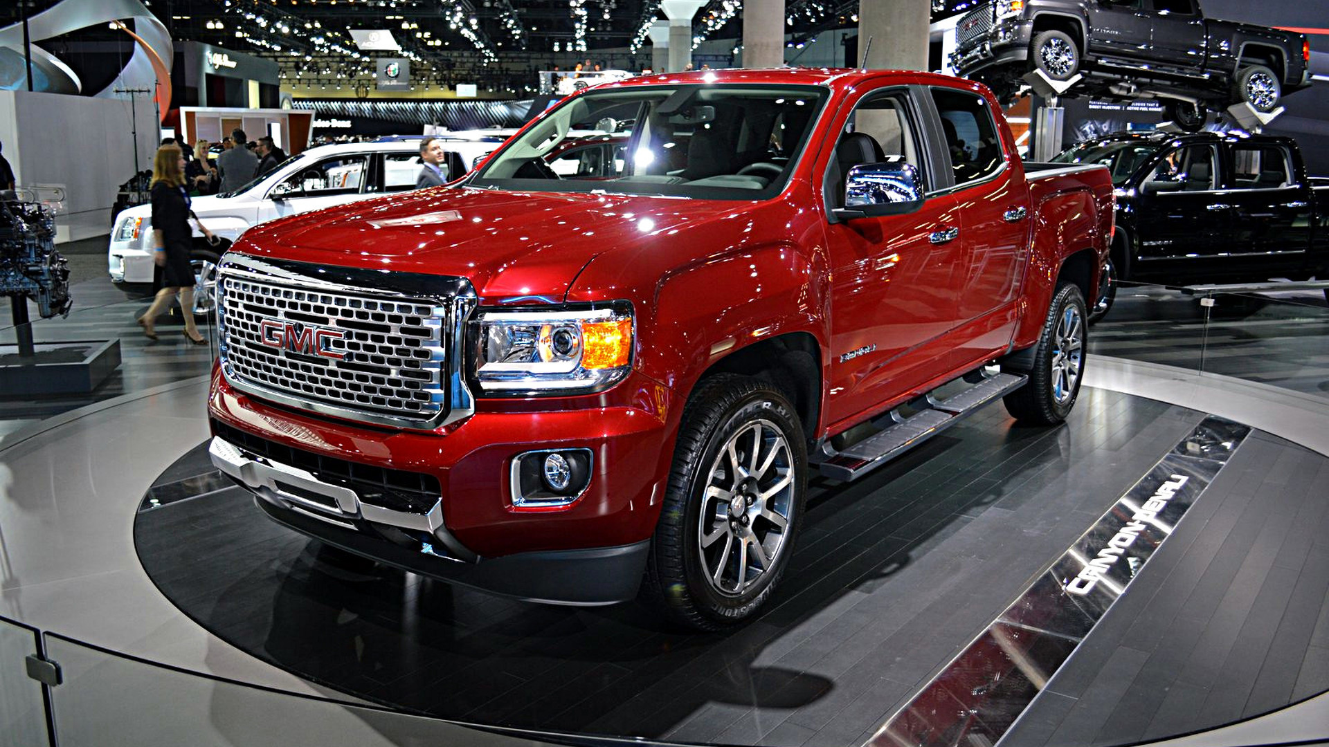 2017 Gmc Canyon Denali Unveiled As The First Premium Mid Size Pickup