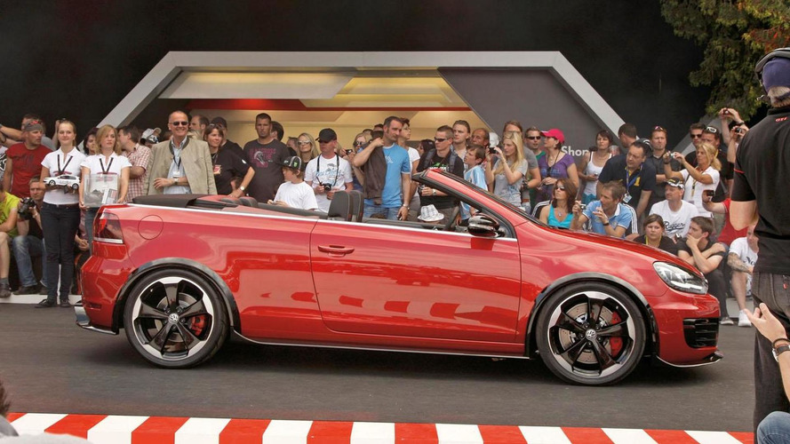 VW Golf GTI Cabriolet Concept details released