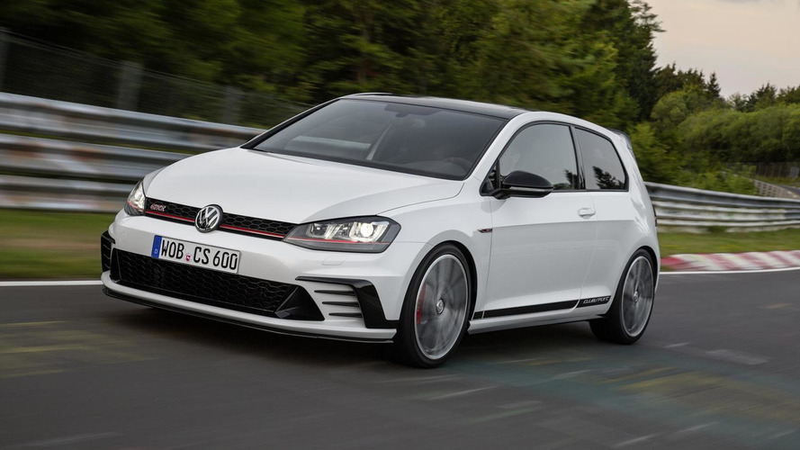 See The Volkswagen Golf Gti Clubsport In Action At Algarve