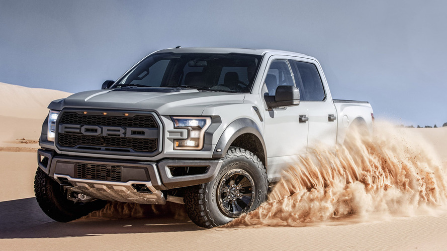 2017 Ford F-150 Raptor officially rated at 450 hp, 510 lb-ft