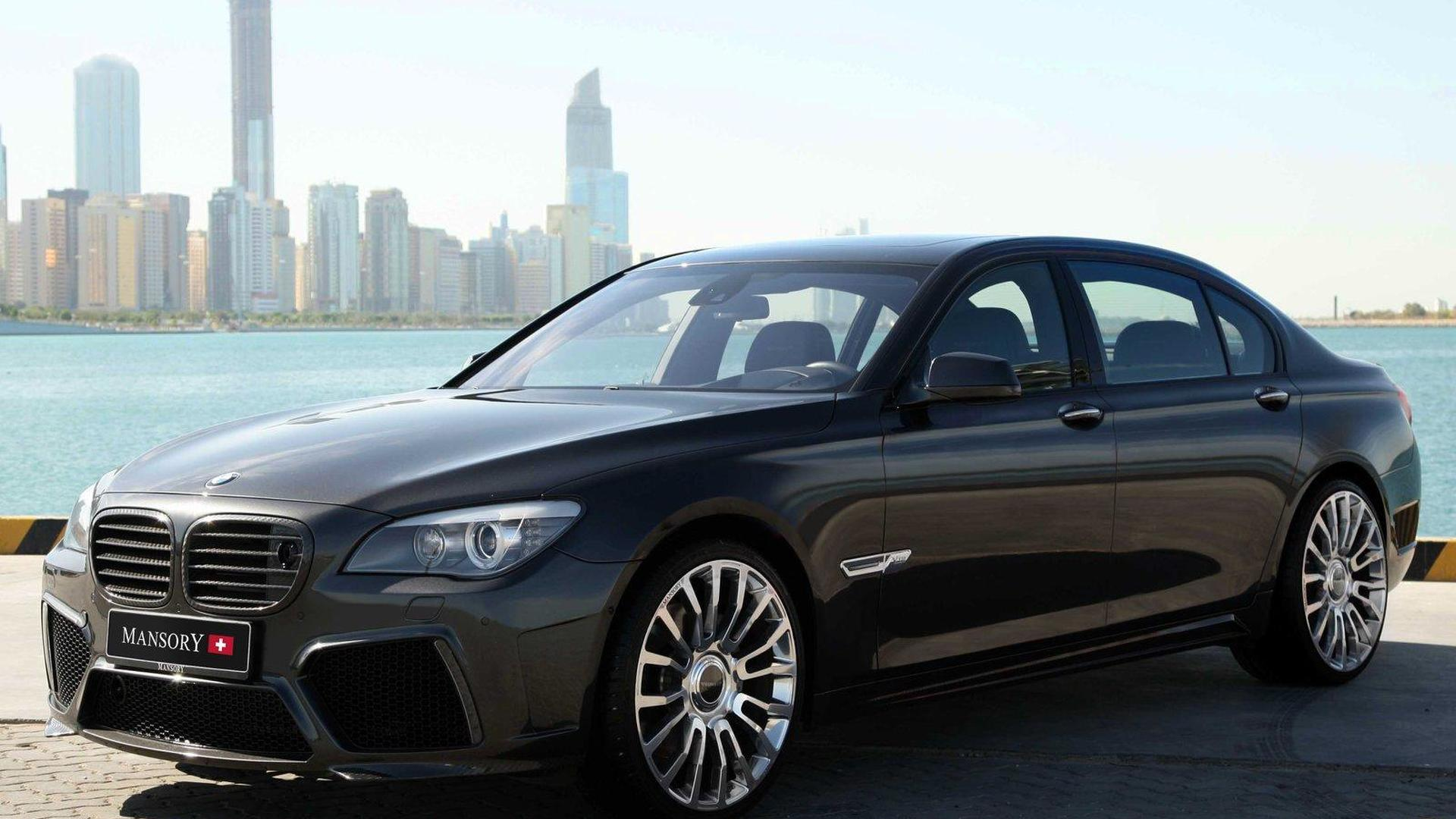 Mansory Does The BMW 7 Series
