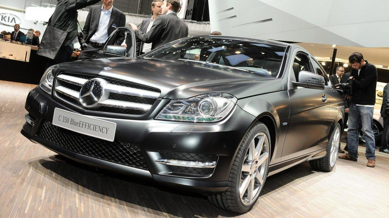 Mercedes-Benz C 350 Coupe BlueEFFICIENCY live in Geneva